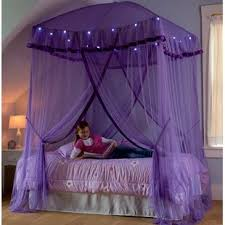 Bed Canopy With Lights | Wayfair