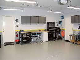 garage lighting ideas with white door