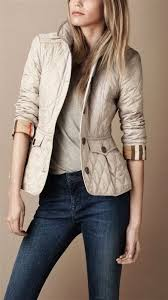 Best 25+ Quilted jacket outfit ideas on Pinterest | Black quilted ... & Burberry on my wish list Adamdwight.com