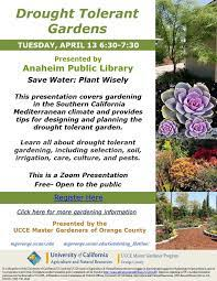 drought tolerant gardens ucce mg oc