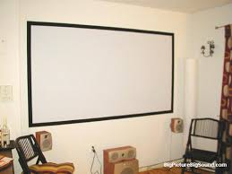 projector wall paintDIY Projector Screens  Part III  Lets Flok BigPictureBigSound