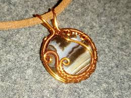 tutorial wire pendants with large stones without holes 42