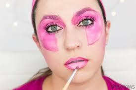 jem halloween makeup tutorial step 13
