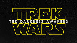 star trek powerpoint template trek wars the darkness awakens star wars star trek mash up