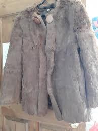 light brown vintage fur coat