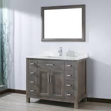 French Bathroom Sink Kelly 42 Inch French Gray Finish Bathroom Vanity Http Www