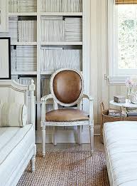 king louis xvi dining chairs. leather upholstery and a crisp white finish add modern touch to round-back king louis xvi dining chairs