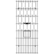 Linear Wire Wall Mount Coat Rack