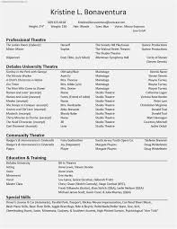 Free 53 Actor Resume Template Download Free Professional Template