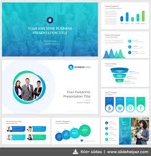 Company Presentation Template Ppt Classy Business Presentation Template With Clean Elegant