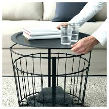basket side table wire