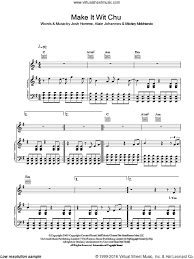 don t fear the reaper sheet music age make it wit chu sheet music for voice piano or guitar