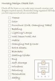 baby room checklist. Checklist Baby Room R
