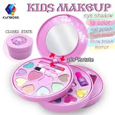 tokia tokia washable cosmetics set for little s all in one real kids makeup kit with portable bag from usa msia senarai harga 2019