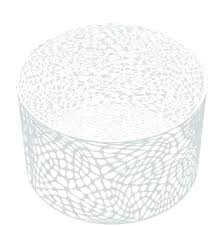 modern outdoor side table round metal coffee brilliant white contemporary tables end patio rh