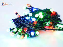 Dây đèn led trang trí ánh sáng nhiều màu – Gift Shop Lọ Lem Bạc Liêu