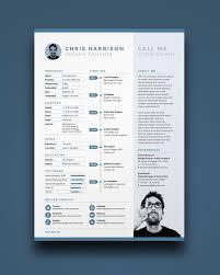 free resume template ikonome creative resume templates download free