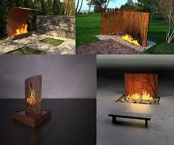 Small Picture The 25 best Modern outdoor fireplace ideas on Pinterest Modern