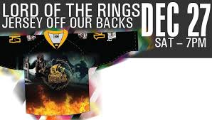 the hobbit jersey off our backs raffle auction december 14 2018 in features by condors