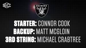 Raiders Qb Depth Chart For Todays Wild Card Game Scoopnest