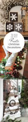 creative homemade christmas decorations. DIY Rustic Christmas Decorations Creative Homemade T