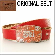 johnny be good janie b good leather belt cowhide red red red logo lady s men men accessory fashion accessories bottoms denim jeans skirt