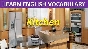Kitchen Furniture Names Kitchen Learn English Vocabulary Youtube