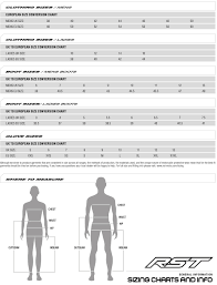 Rst Race Suit Size Chart Motorcycle Jacket Sizing Online Charts Collection
