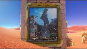 super mario odyssey all warp paintings locations