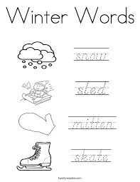 Small Picture Winter Coloring Pages Page 3 Twisty Noodle