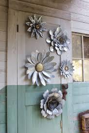 garden metal flower wall art