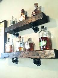 wall mounted liquor shelves wall mounted liquor shelves wall mounted bar shelf distressed wood shelves wooden wall mounted liquor shelves