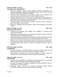 Loan Officer Resume Samples Mortgageplatesal Sampleplate 1080x1398
