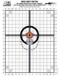 Arma Dynamics Red Dot Zero Targets