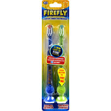 Push Lights Dollar General Firefly Kids Light Up Toothbrush With Suction Bottom 2 Pack Assorted