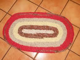 crochet oval rag rug tutorial for beginners 101 part 2