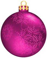 Pink Christmas Ball PNG Clipart - Best WEB Clipart