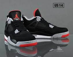 jordan 4 retro. air jordan iv (4) retro black/cement grey-fire red | my look pinterest iv and 4