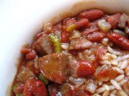 red beans rice new orleans recipe bridget used to be known for her homemade red beans and rice this is new orleans and every monday we