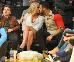 And that primetime conversation is making headlines almost two decades after the two women sat down together because of its inclusion. Britney Spears Kisses 23 Year Old Boyfriend Sam Asghari And Flashes Her Legs In Short Skirt As They Take Her Sons To A Basketball Game