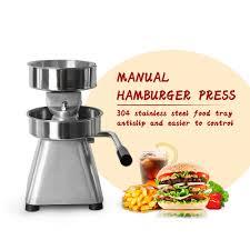 <b>ITOP Manual Hamburger</b> Press Forming IT 150 <b>Patty</b> Maker With ...