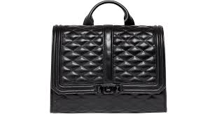 Rebecca minkoff Love Quilted Leather Backpack in Black | Lyst &  Adamdwight.com