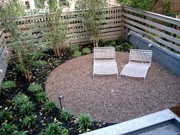 Patio Ideas For Small Areas Gravel Backyard Designs
