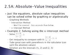 absolute value equation of inequality 2