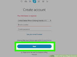 Making Skype Account How To Set Up A Skype Account With Pictures Wikihow