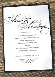 best 25 wedding invitation wording ideas on pinterest how to Formal Wedding Invitation Wording Date simply elegant wedding invitation (anna malie design on etsy) formal wedding invitation wording samples