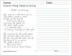 Free Blank Handwriting Worksheets For Kindergarten Sheets Printable