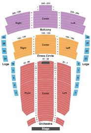 Imperial Vancouver Seating Chart The Centre In Vancouver For Performing Arts Tickets And The