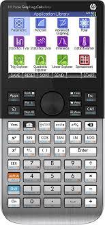 hp prime portable graphing calculator black silver