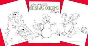 Free Adult Coloring Pages Christmas Pictures Printable For Adults